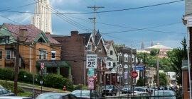 Neighborhood in Pittsburgh