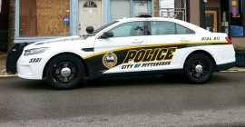 city of Pittsburgh police cruiser
