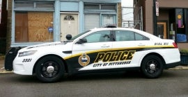 Pittsburgh Police Car